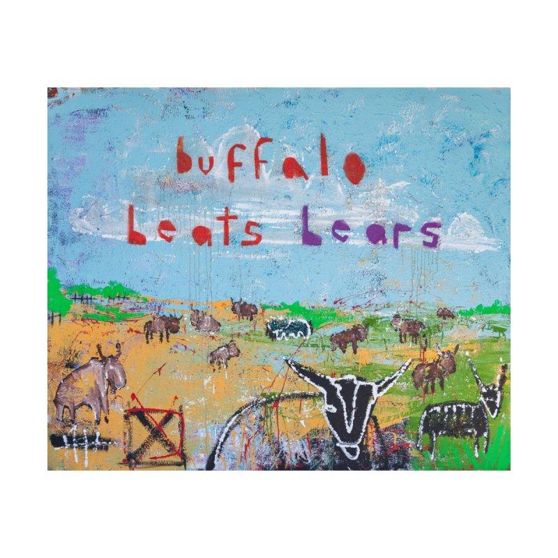 buffalo wins Home Blanket by stobo's Artist Shop