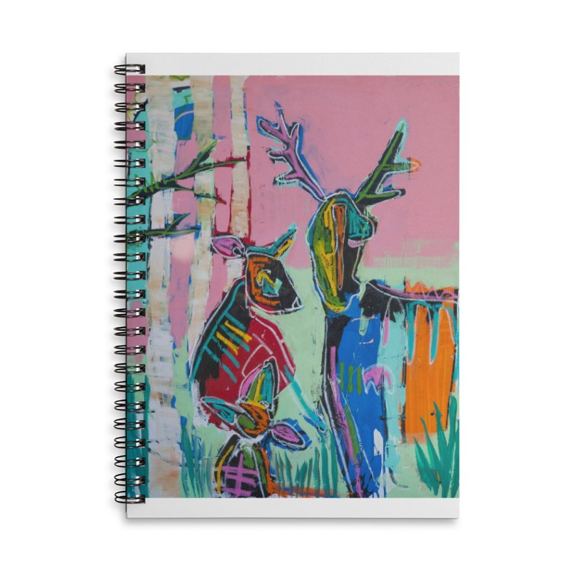 home Accessories Lined Spiral Notebook by stobo's Artist Shop