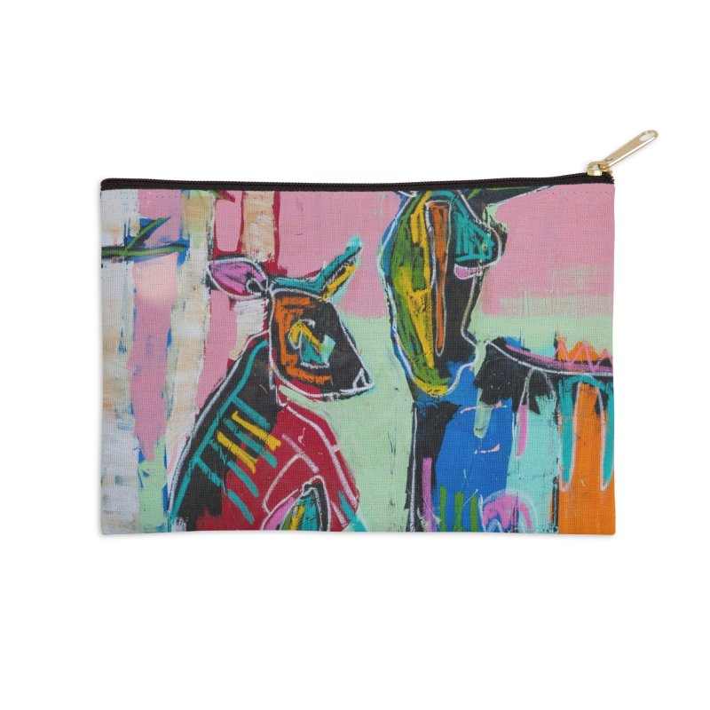 home Accessories Zip Pouch by stobo's Artist Shop
