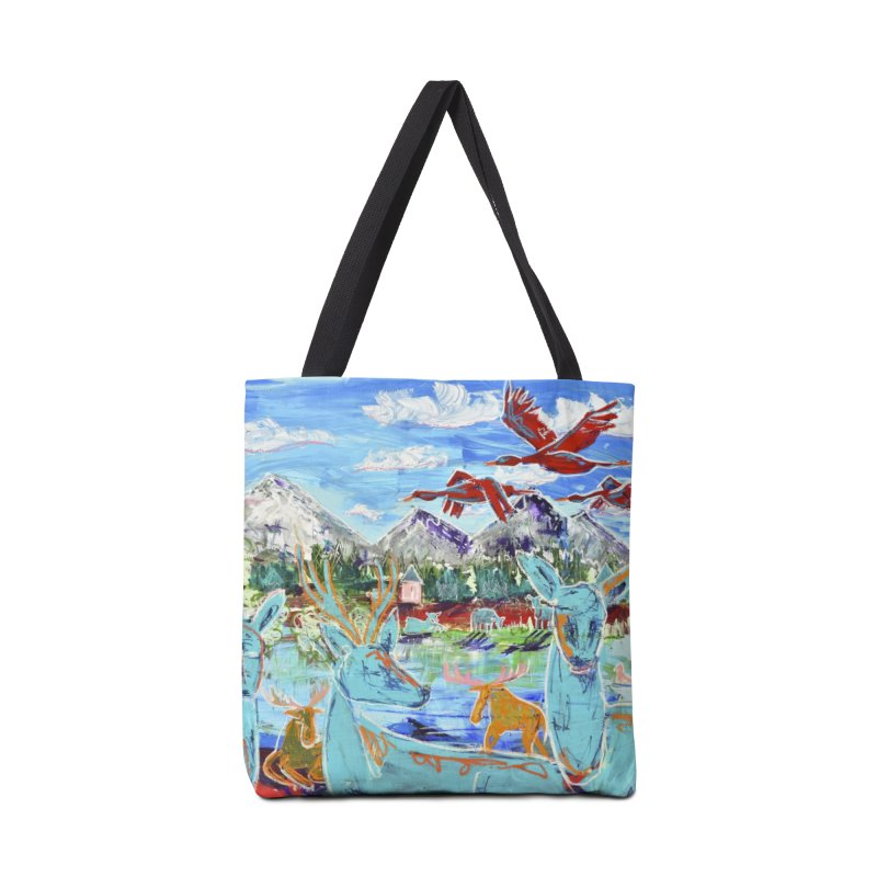 friends by the river Accessories Bag by stobo's Artist Shop