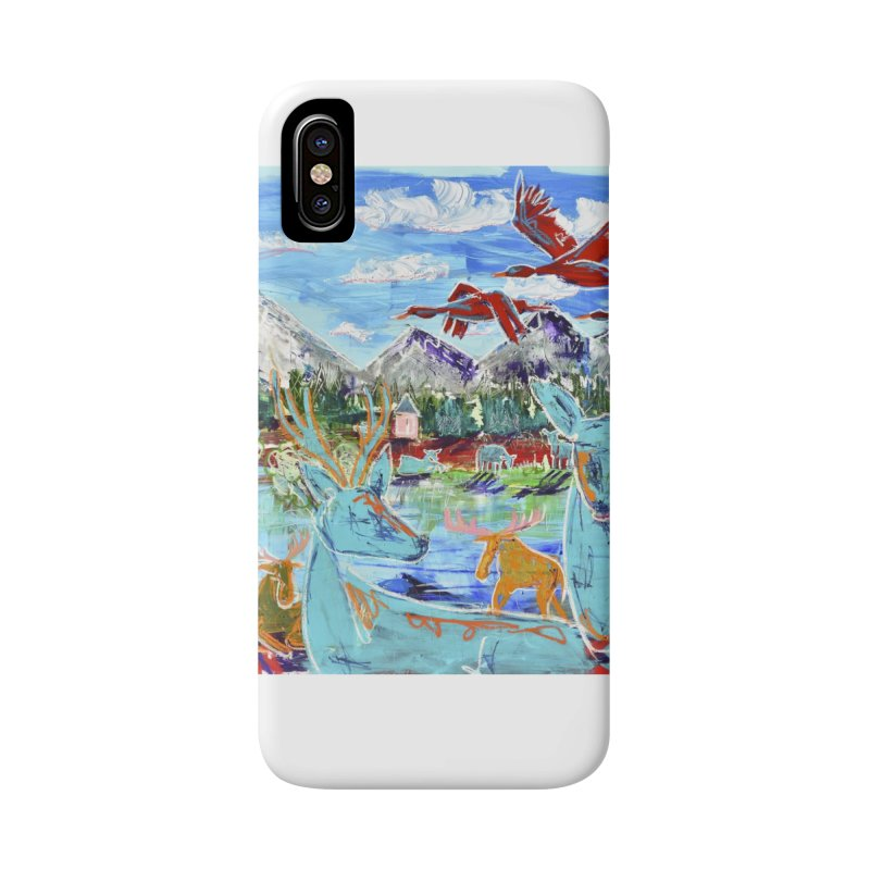 friends by the river Accessories Phone Case by stobo's Artist Shop