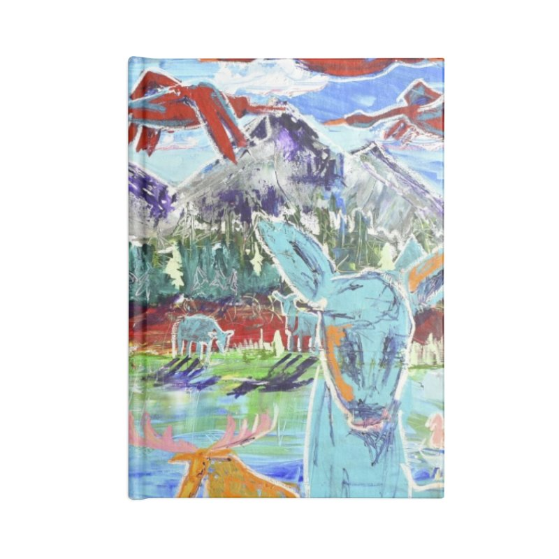 friends by the river Accessories Notebook by stobo's Artist Shop