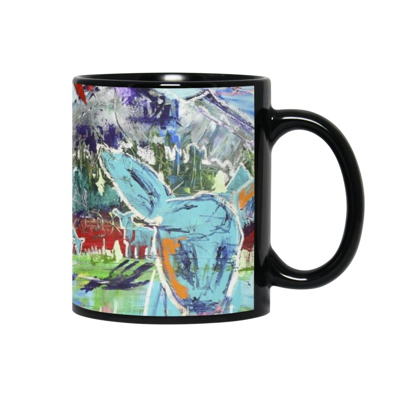 friends by the river Accessories Mug by stobo's Artist Shop