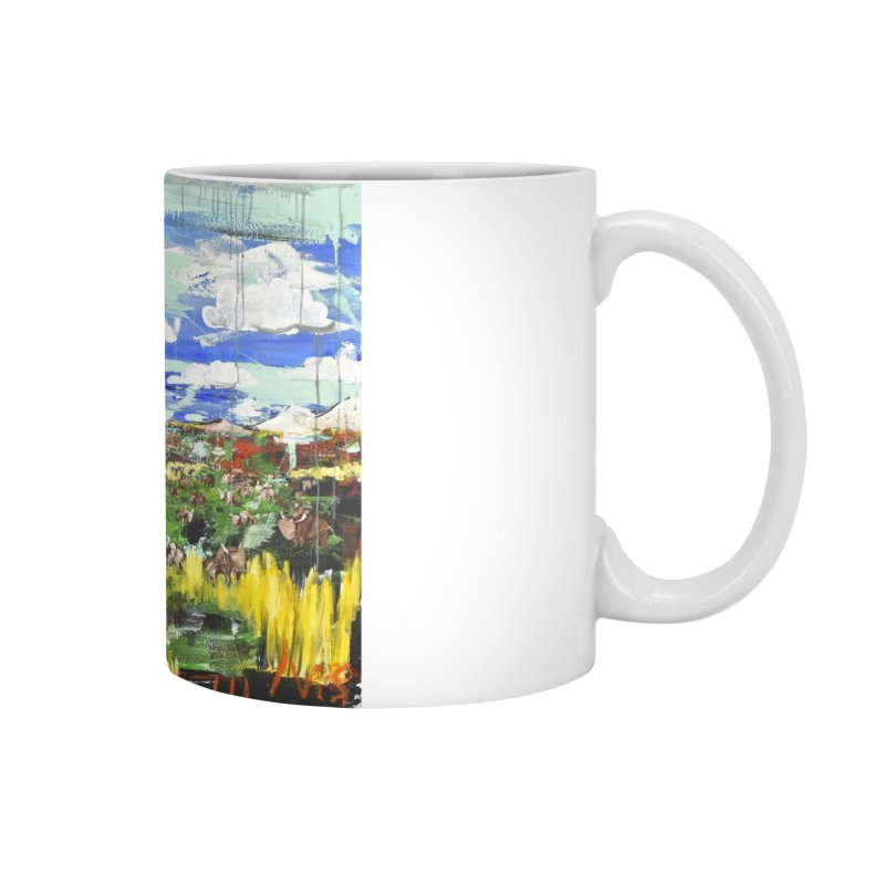the tractor Accessories Mug by stobo's Artist Shop