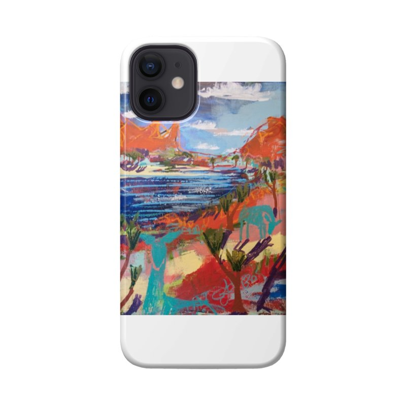 taking a dip and reading books Accessories Phone Case by stobo's Artist Shop