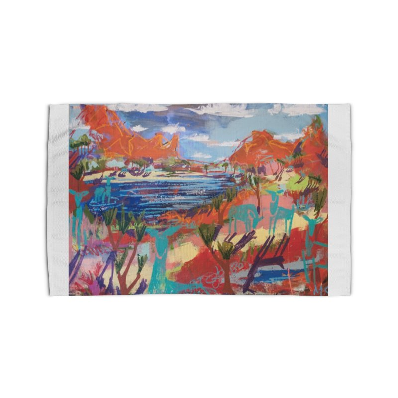 taking a dip and reading books Home Rug by stobo's Artist Shop