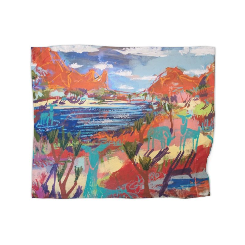 taking a dip and reading books Home Fleece Blanket Blanket by stobo's Artist Shop
