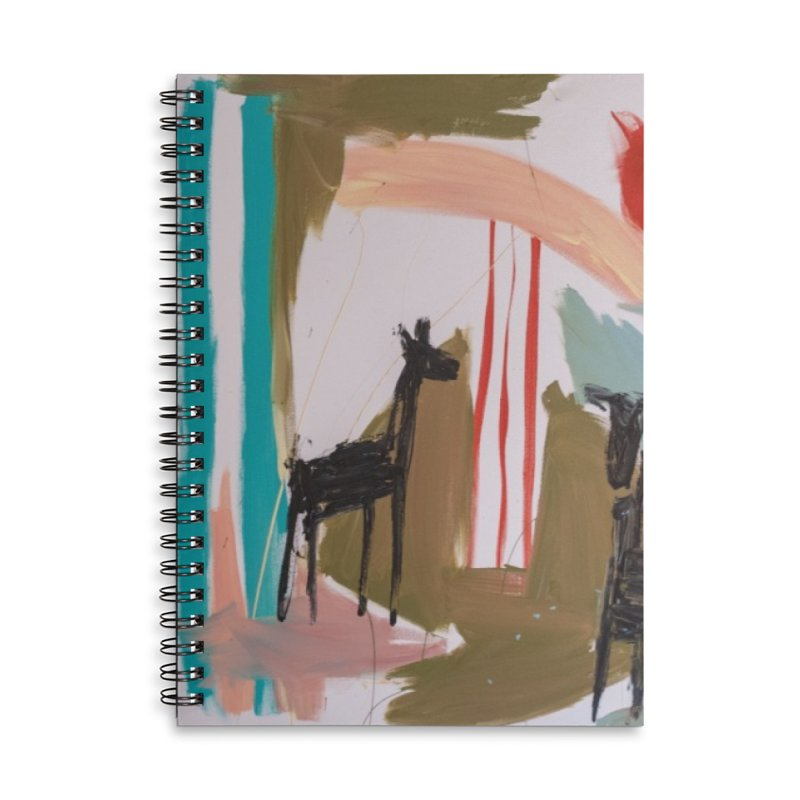 wild Accessories Lined Spiral Notebook by stobo's Artist Shop