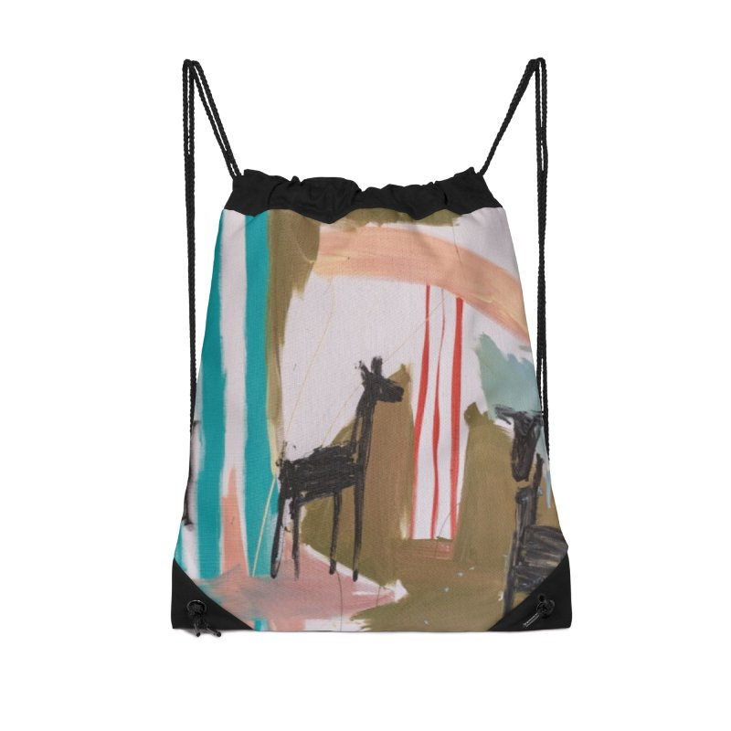 wild Accessories Drawstring Bag Bag by stobo's Artist Shop
