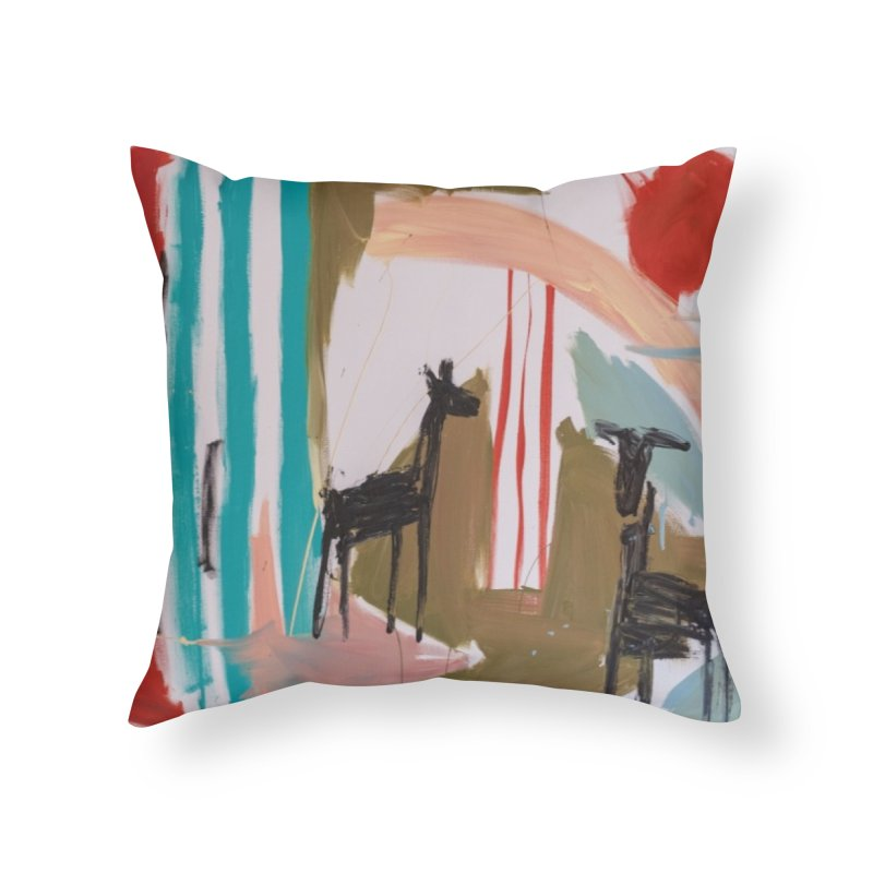 wild Home Throw Pillow by stobo's Artist Shop