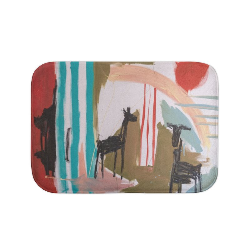 wild Home Bath Mat by stobo's Artist Shop