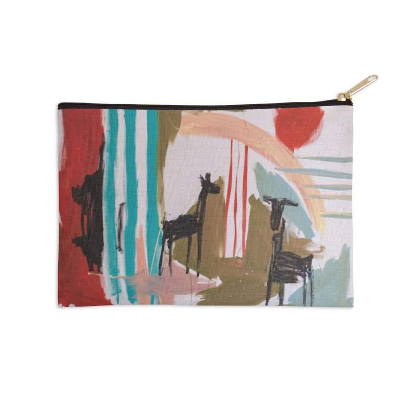 wild Accessories Zip Pouch by stobo's Artist Shop