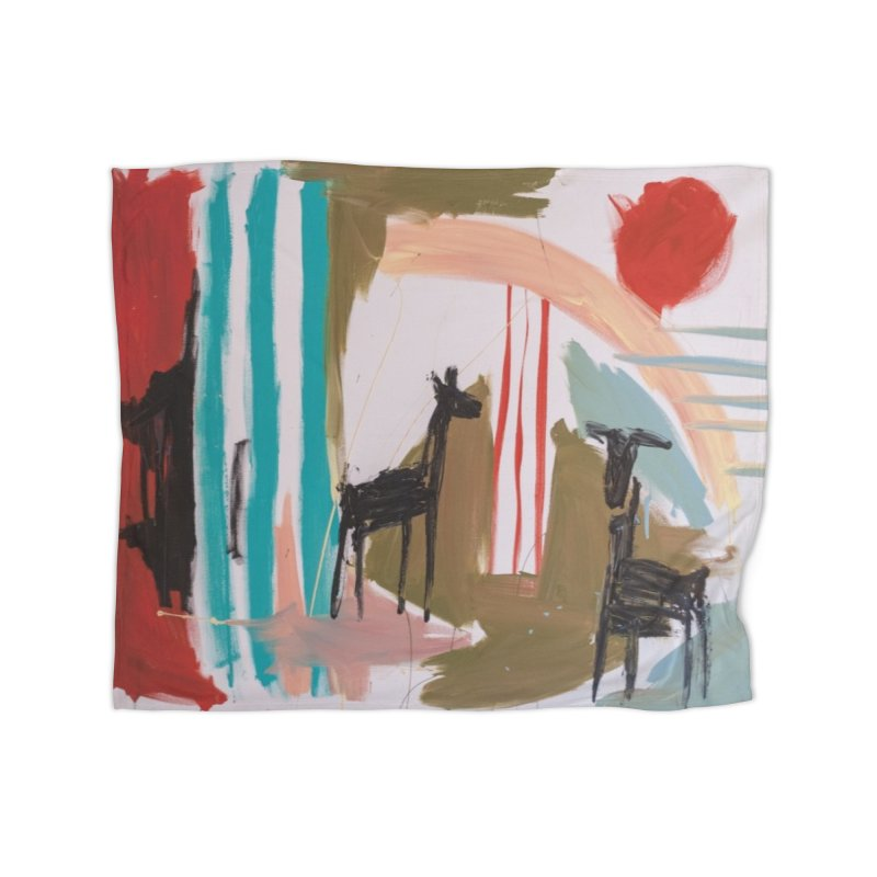 wild Home Fleece Blanket Blanket by stobo's Artist Shop