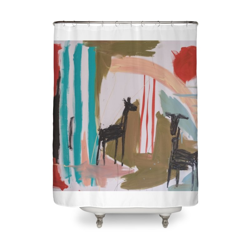 wild Home Shower Curtain by stobo's Artist Shop