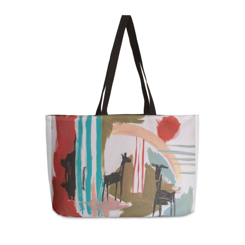 wild Accessories Weekender Bag Bag by stobo's Artist Shop