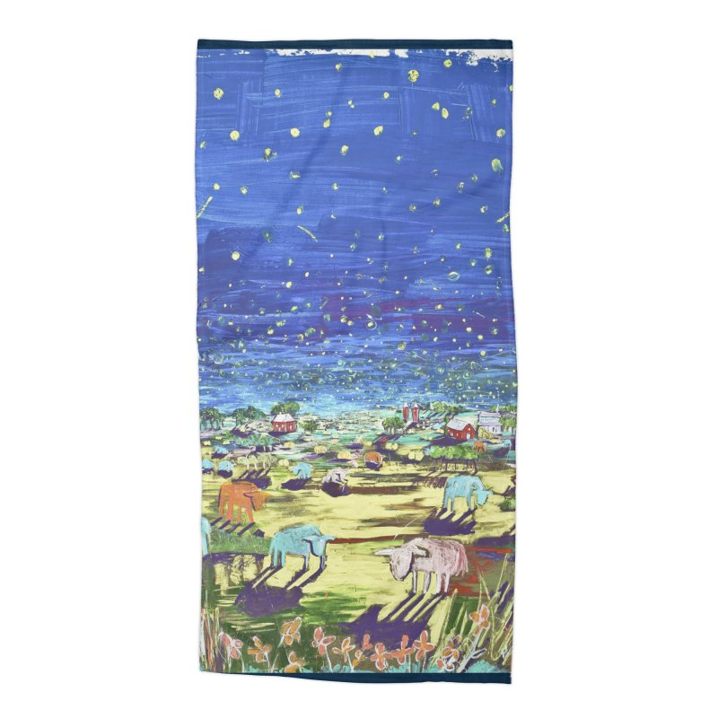 making wishes for you and me Accessories Beach Towel by stobo's Artist Shop
