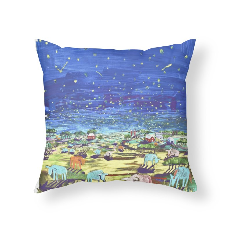 making wishes for you and me Home Throw Pillow by stobo's Artist Shop