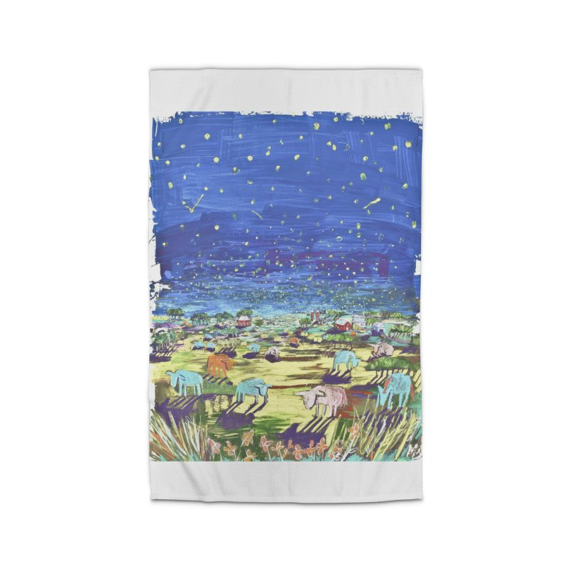 making wishes for you and me Home Rug by stobo's Artist Shop