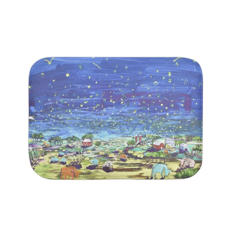making wishes for you and me Home Bath Mat by stobo's Artist Shop