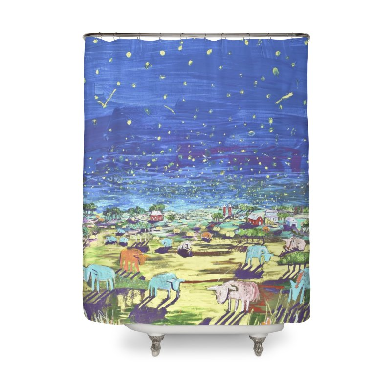 making wishes for you and me Home Shower Curtain by stobo's Artist Shop