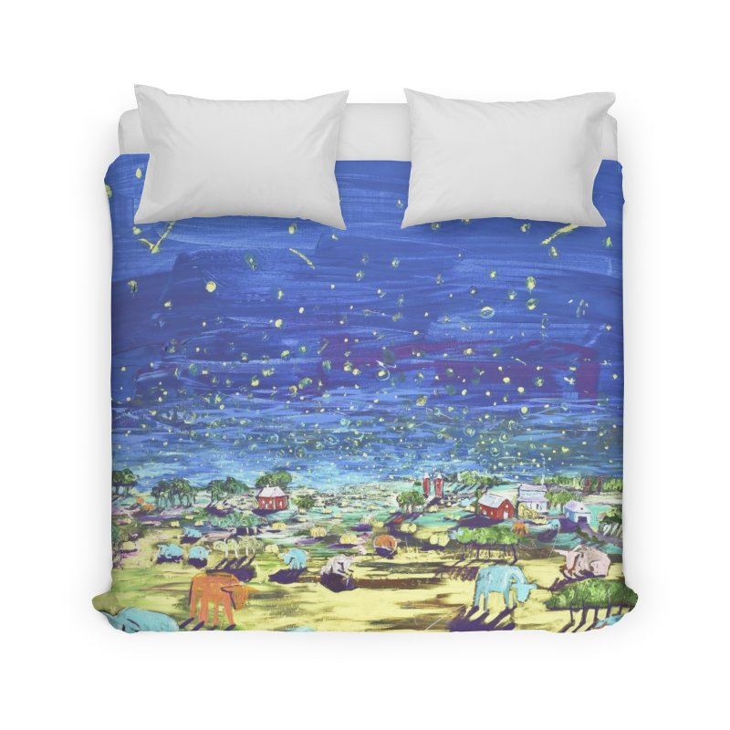 making wishes for you and me Home Duvet by stobo's Artist Shop