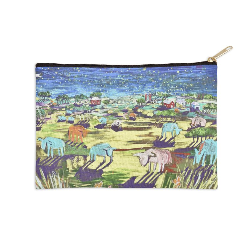making wishes for you and me Accessories Zip Pouch by stobo's Artist Shop