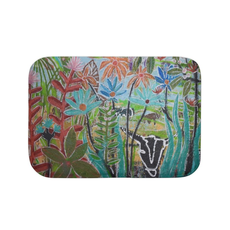 The jungle took me and taught me all the right things Home Bath Mat by stobo's Artist Shop