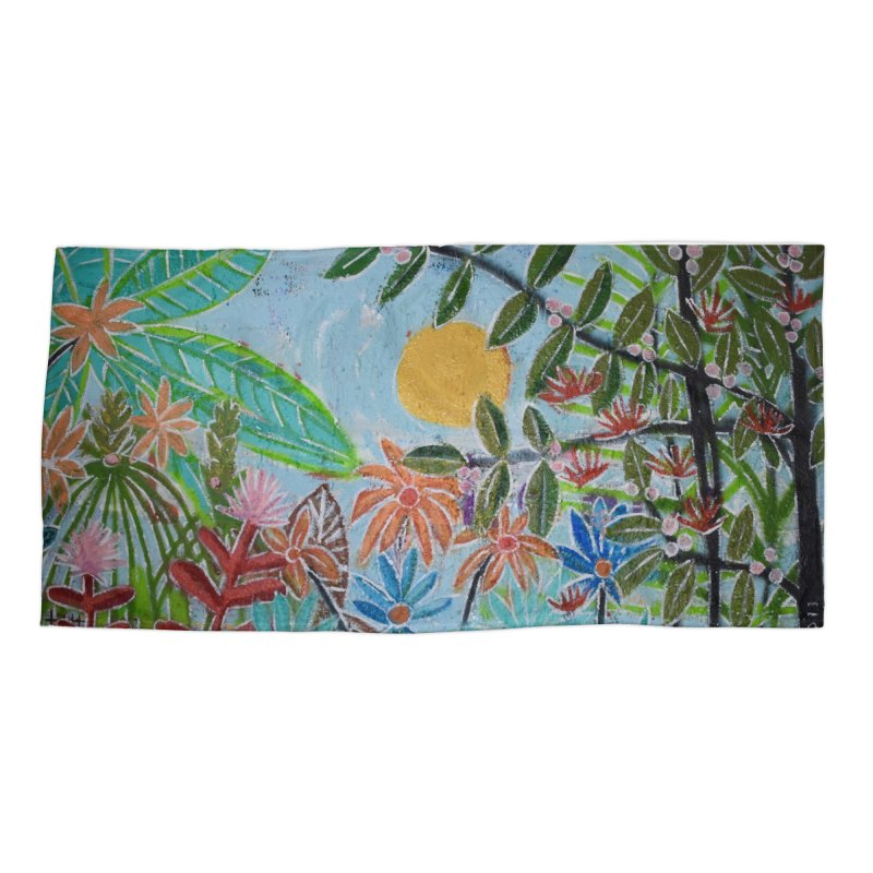 The jungle took me and taught me all the right things Accessories Beach Towel by stobo's Artist Shop