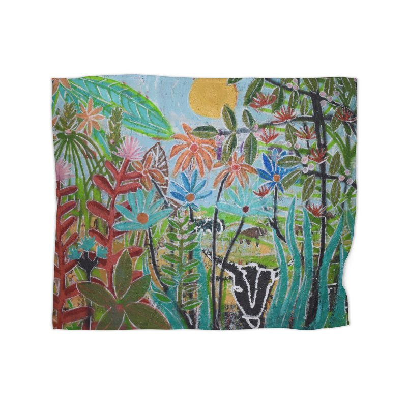 The jungle took me and taught me all the right things Home Fleece Blanket Blanket by stobo's Artist Shop