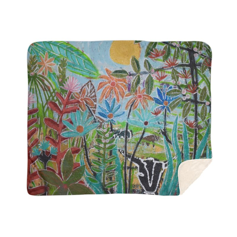 The jungle took me and taught me all the right things Home Sherpa Blanket Blanket by stobo's Artist Shop
