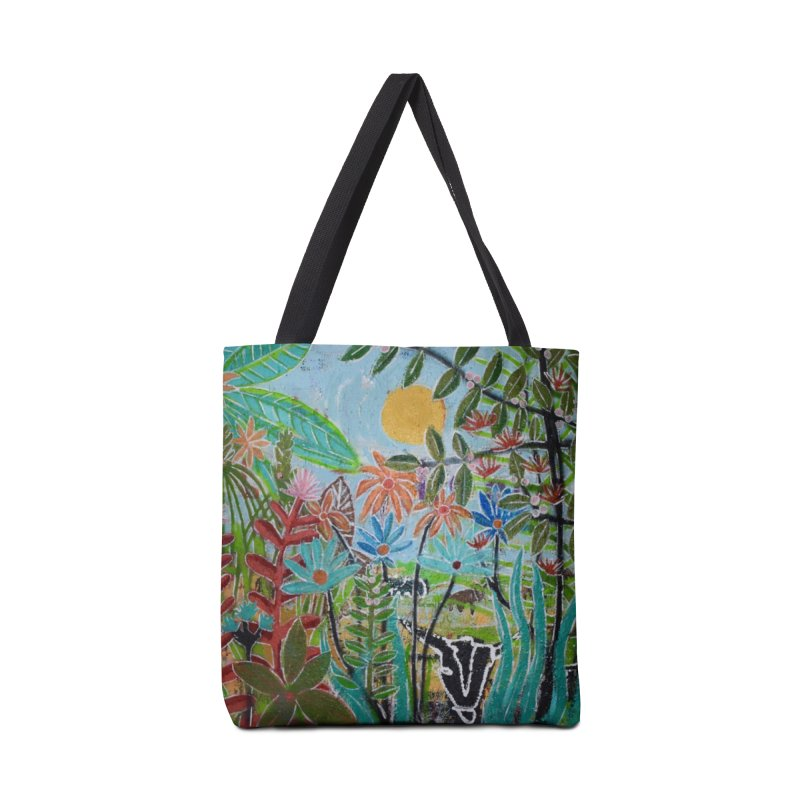 The jungle took me and taught me all the right things Accessories Tote Bag Bag by stobo's Artist Shop