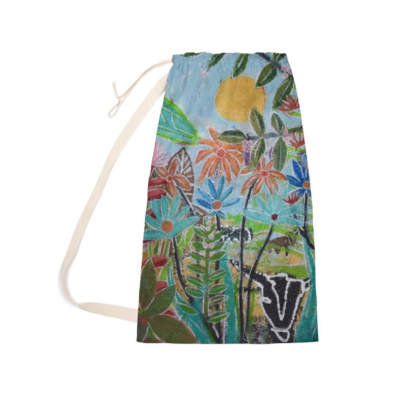 The jungle took me and taught me all the right things Accessories Laundry Bag Bag by stobo's Artist Shop
