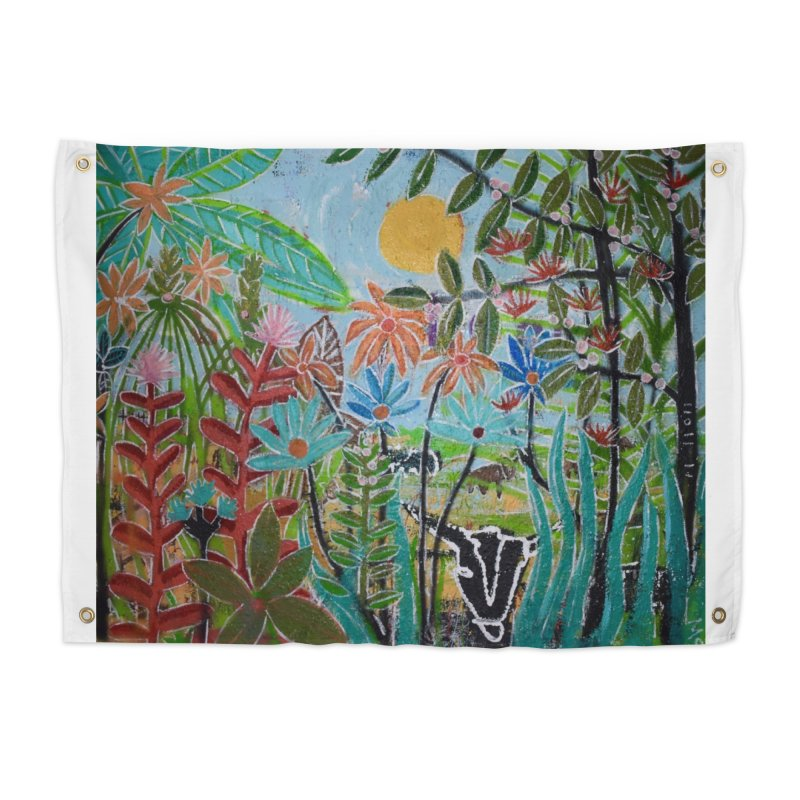 The jungle took me and taught me all the right things Home Tapestry by stobo's Artist Shop