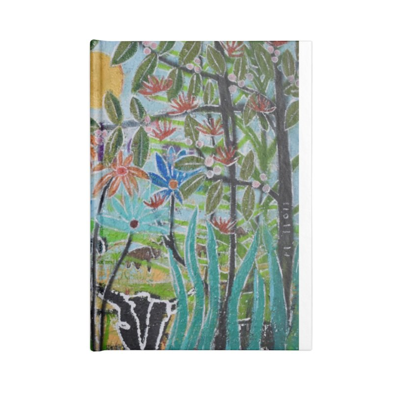 The jungle took me and taught me all the right things Accessories Blank Journal Notebook by stobo's Artist Shop