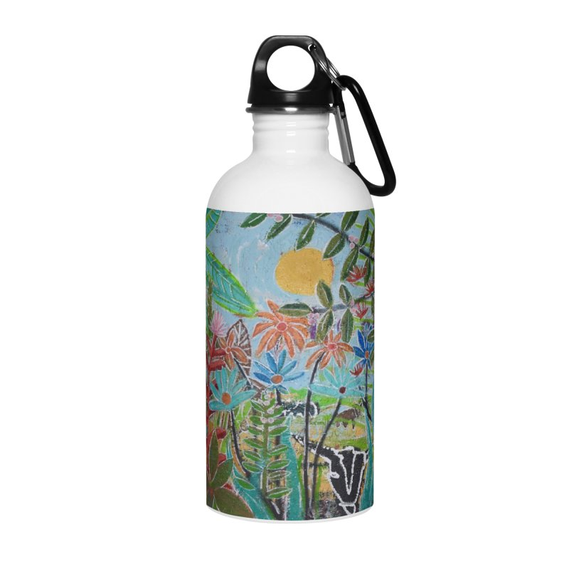 The jungle took me and taught me all the right things Accessories Water Bottle by stobo's Artist Shop