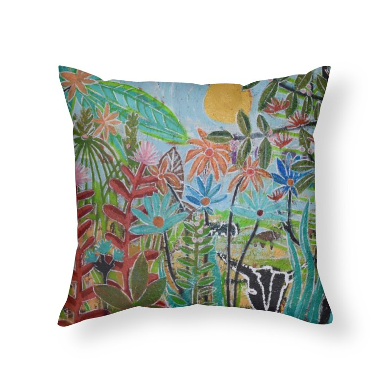 The jungle took me and taught me all the right things Home Throw Pillow by stobo's Artist Shop
