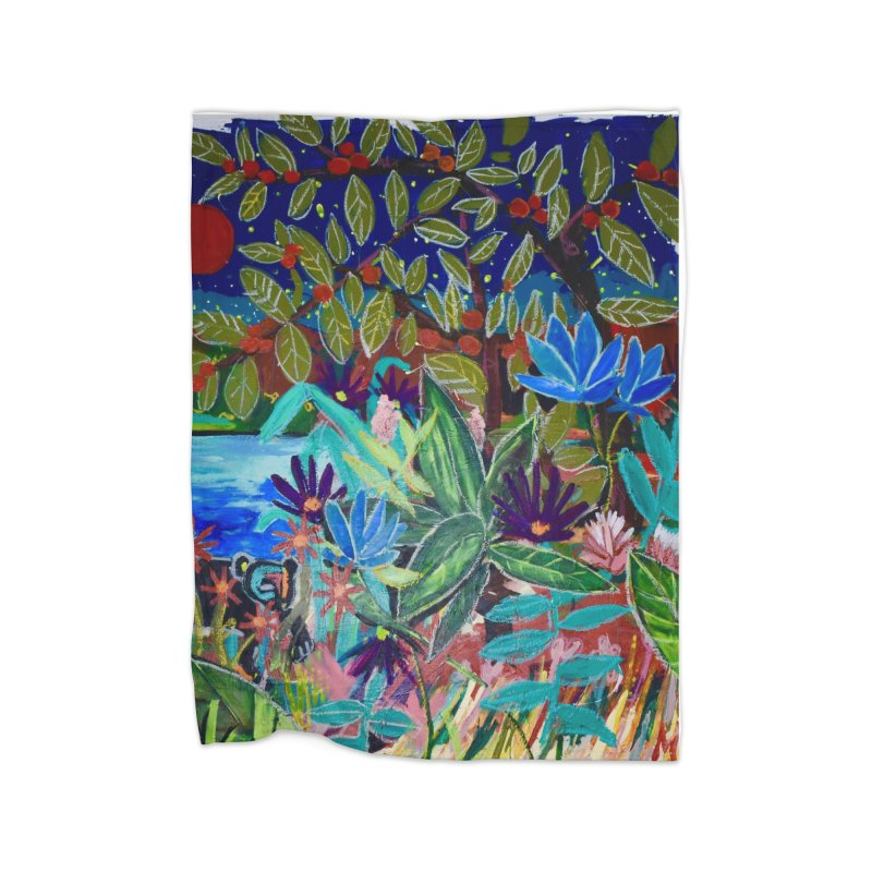 this is where i found your heart. Home Fleece Blanket Blanket by stobo's Artist Shop