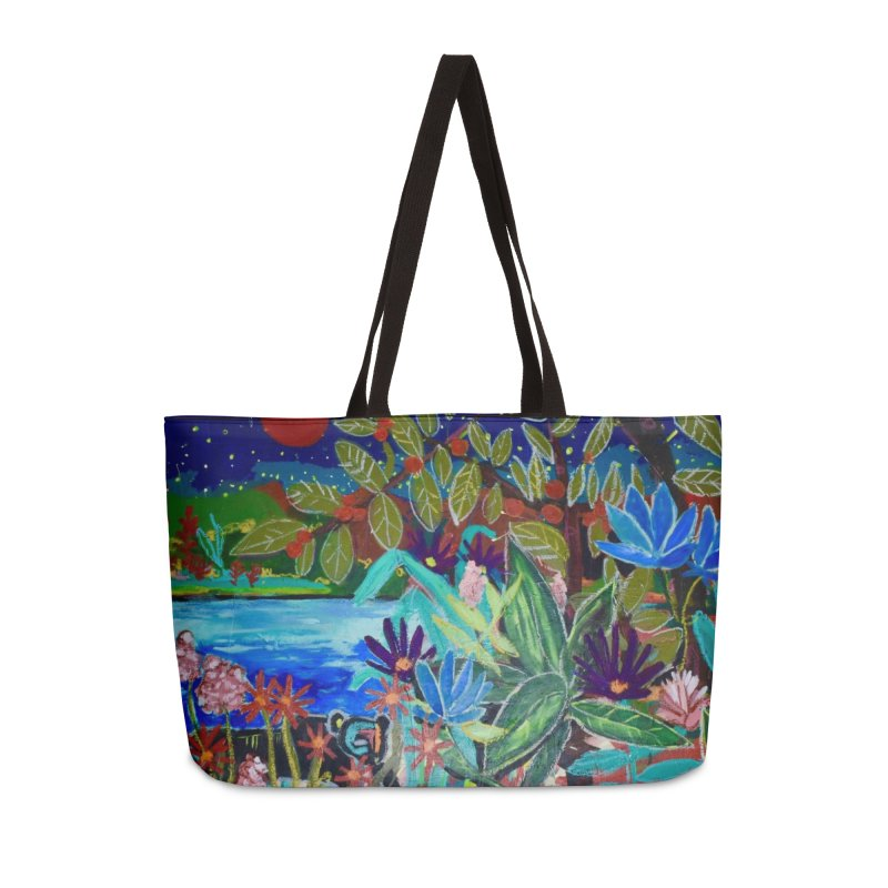 this is where i found your heart. Accessories Weekender Bag Bag by stobo's Artist Shop