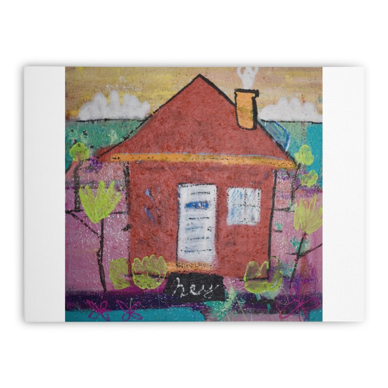 Take me home. Home Stretched Canvas by stobo's Artist Shop