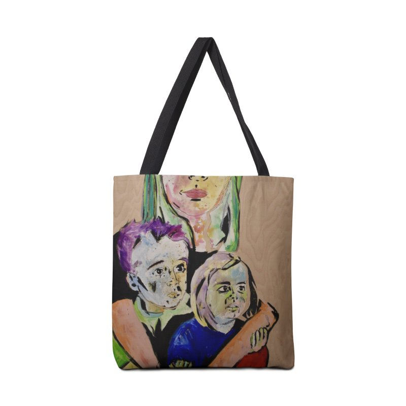 Momma rules all hearts. Accessories Bag by stobo's Artist Shop
