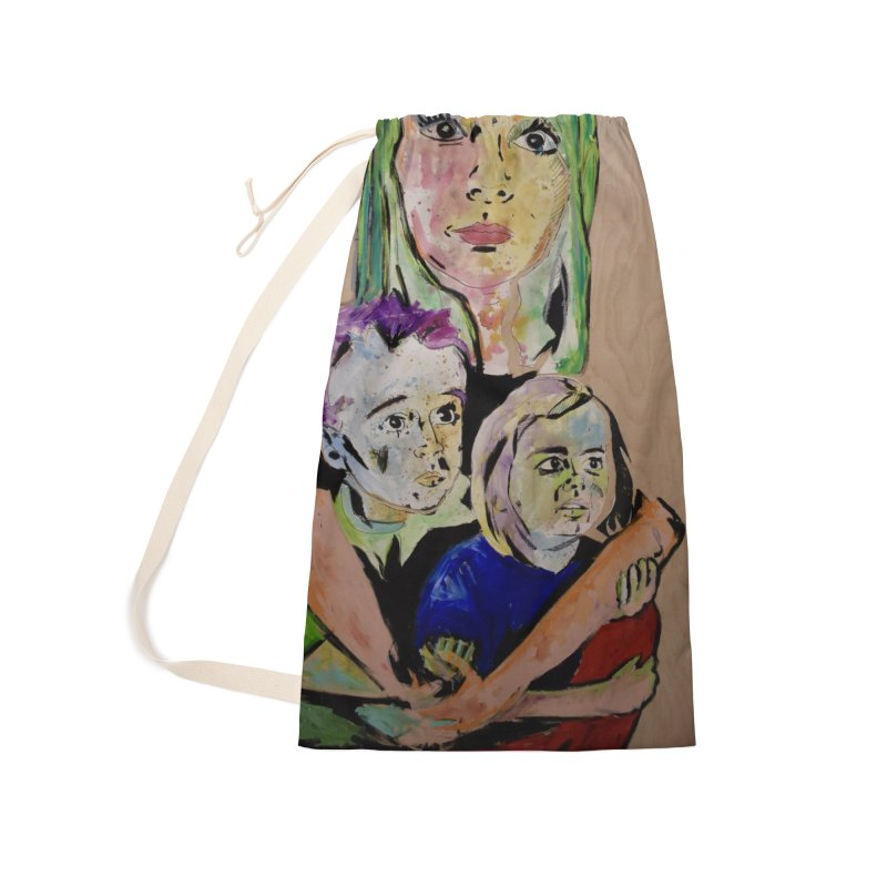 Momma rules all hearts. Accessories Laundry Bag Bag by stobo's Artist Shop