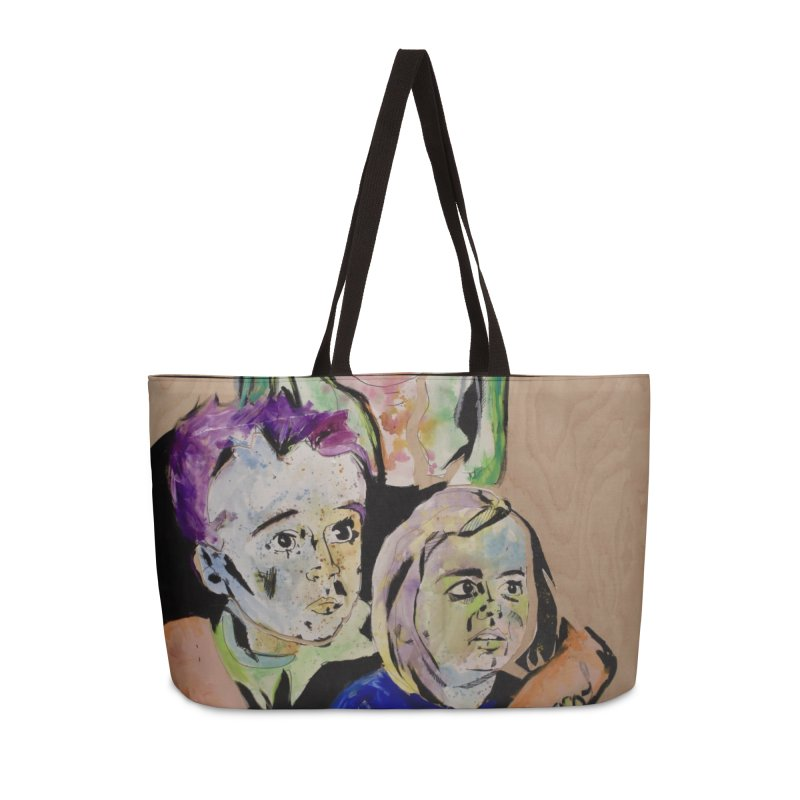 Momma rules all hearts. Accessories Weekender Bag Bag by stobo's Artist Shop