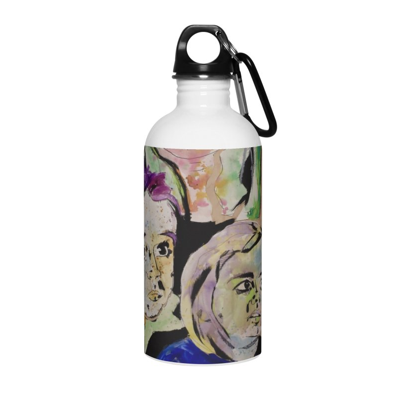 Momma rules all hearts. Accessories Water Bottle by stobo's Artist Shop