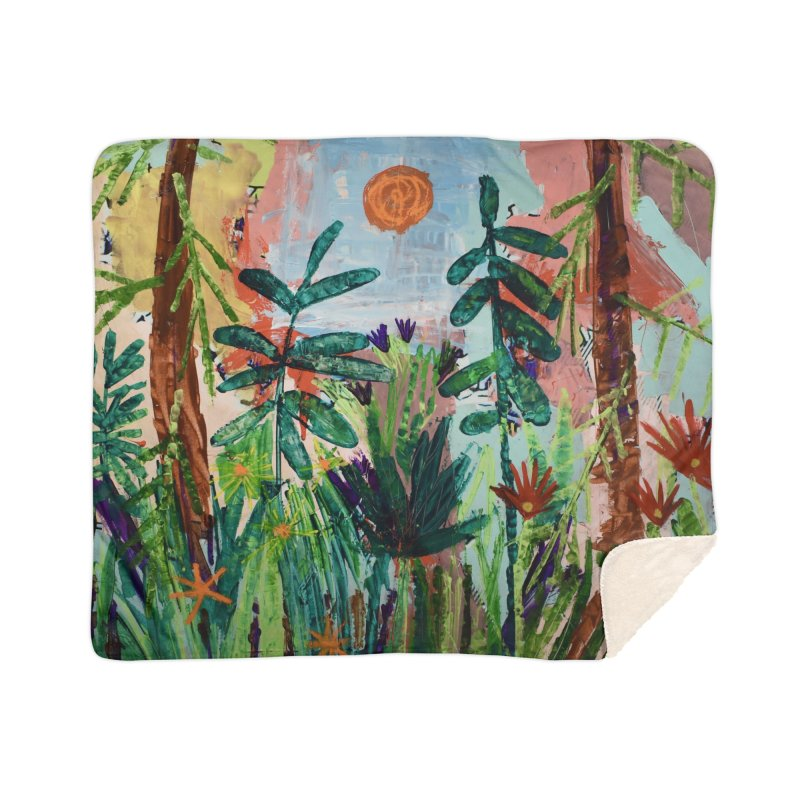 The bravest of hearts grew from here. Home Blanket by stobo's Artist Shop