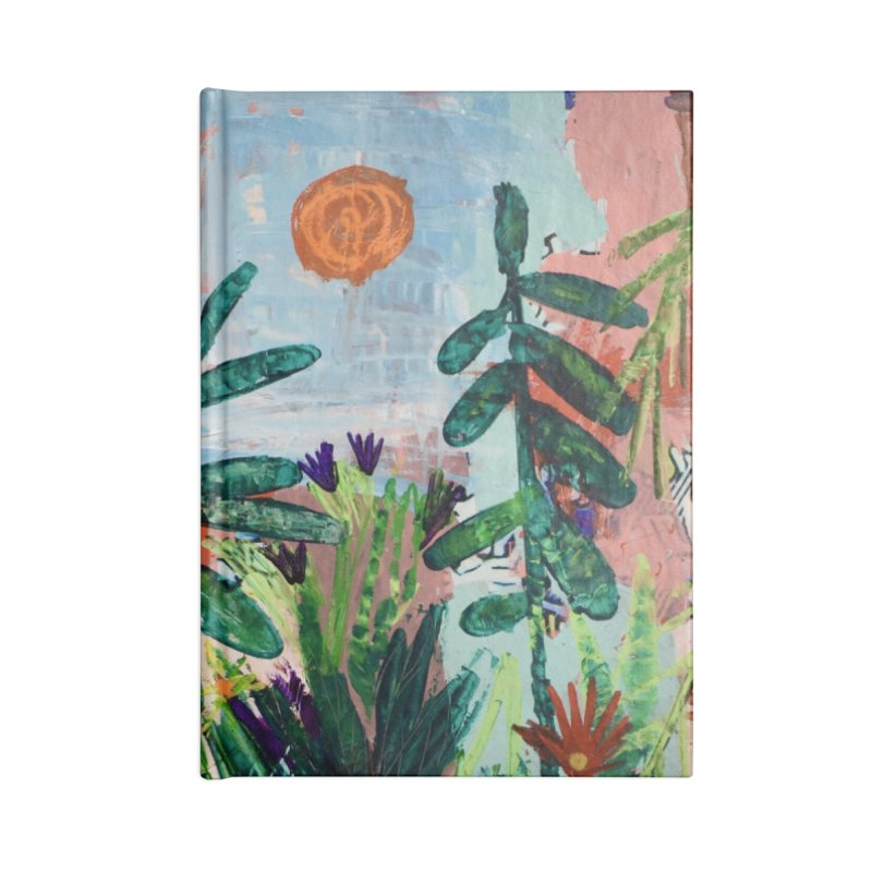 The bravest of hearts grew from here. Accessories Blank Journal Notebook by stobo's Artist Shop