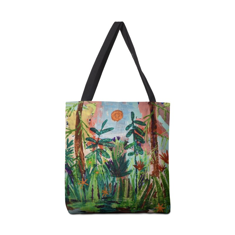 The bravest of hearts grew from here. Accessories Tote Bag Bag by stobo's Artist Shop