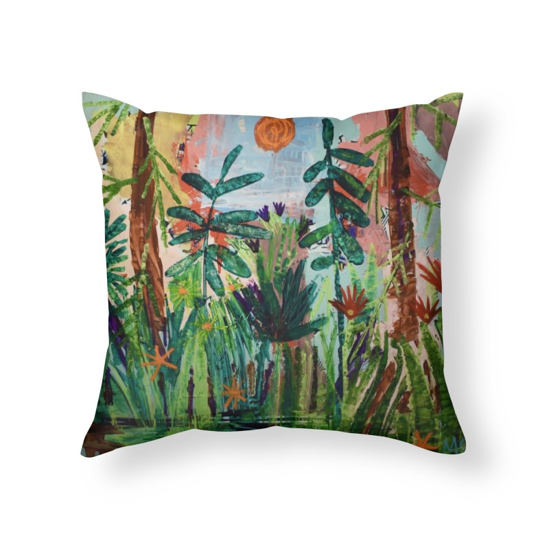 The bravest of hearts grew from here. Home Throw Pillow by stobo's Artist Shop