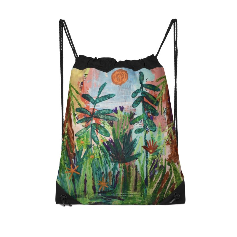 The bravest of hearts grew from here. Accessories Drawstring Bag Bag by stobo's Artist Shop