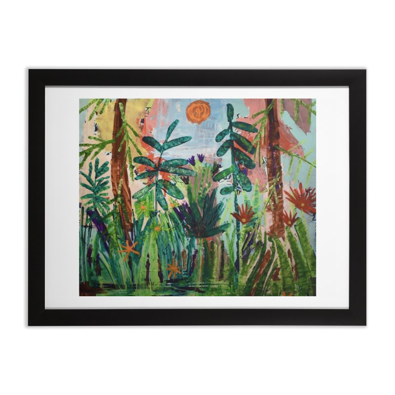 The bravest of hearts grew from here. Home Framed Fine Art Print by stobo's Artist Shop