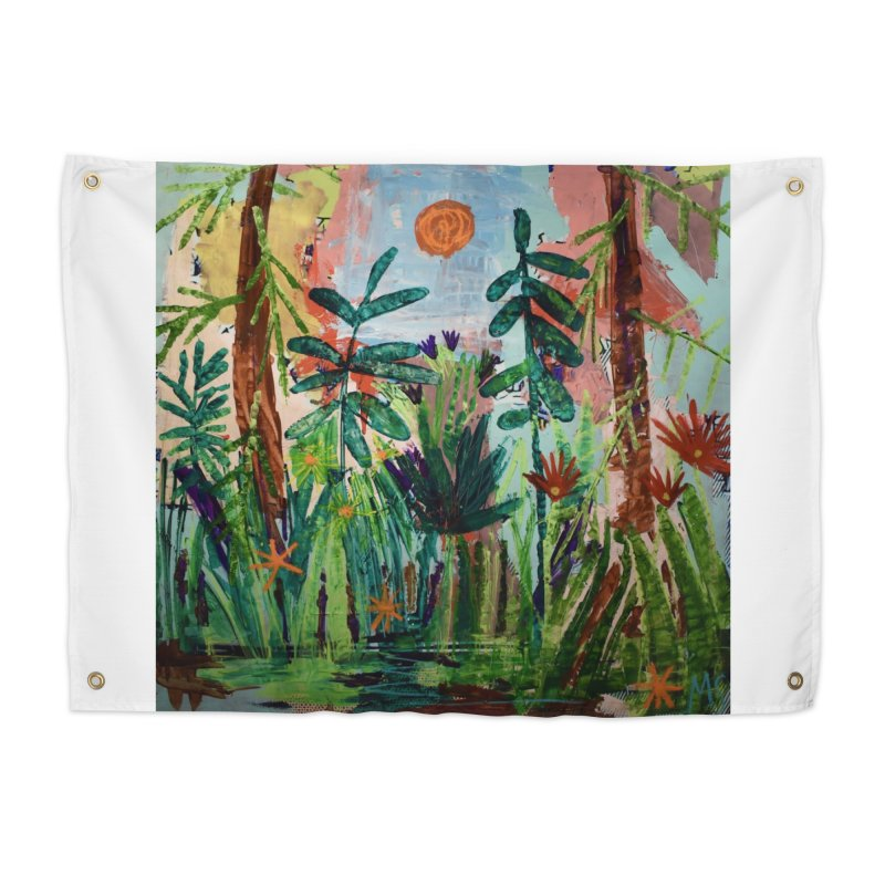 The bravest of hearts grew from here. Home Tapestry by stobo's Artist Shop